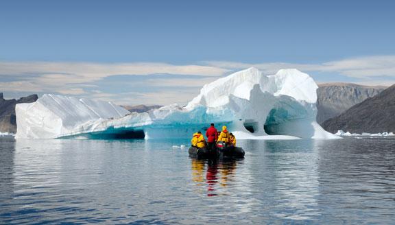 Canadian Arctic Zodiac excursions