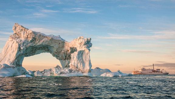 High Arctic scenery
