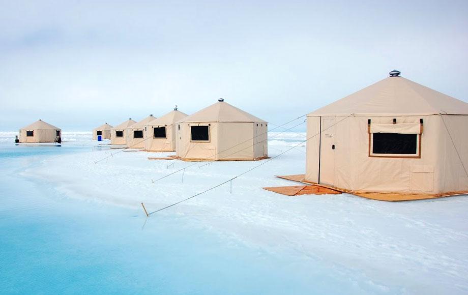 Luxury Tents in the Arctic