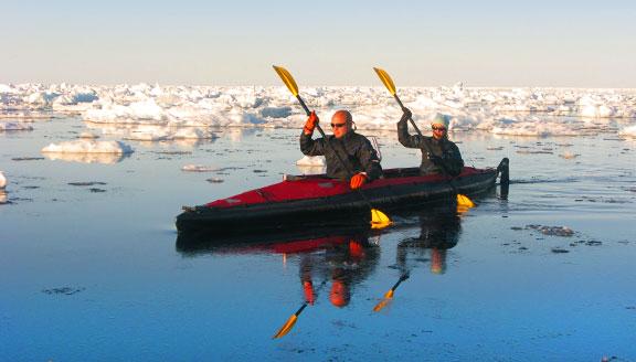 Arctic Land Expedition tours kayaking