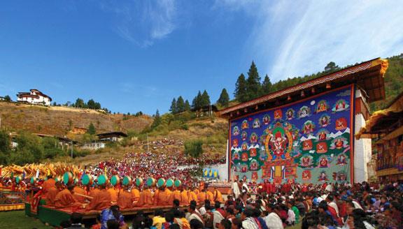 Bhutan festival tours ceremonies