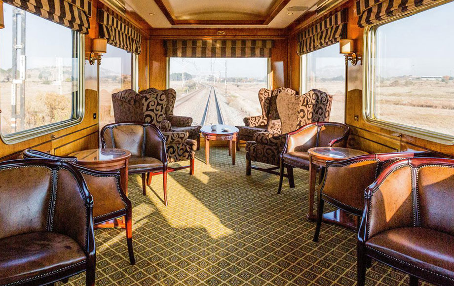 The Blue Train Dining