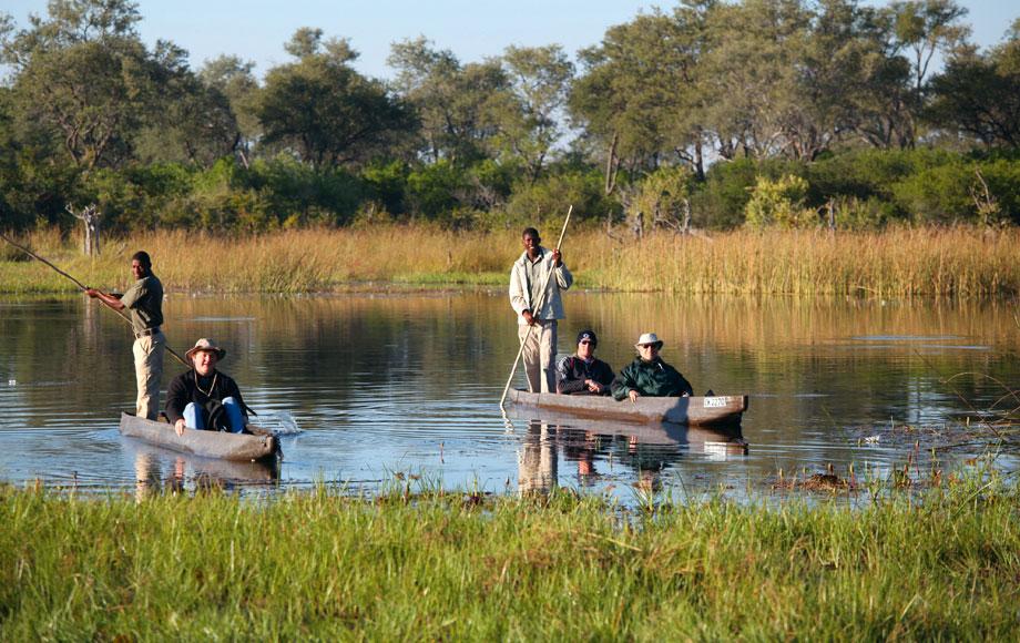 Mokoro excusion in the Okavango Delta