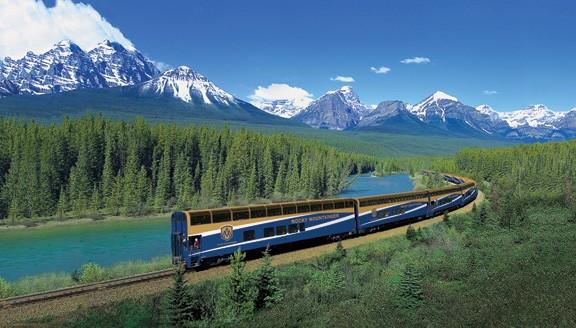 Canada rail journeys