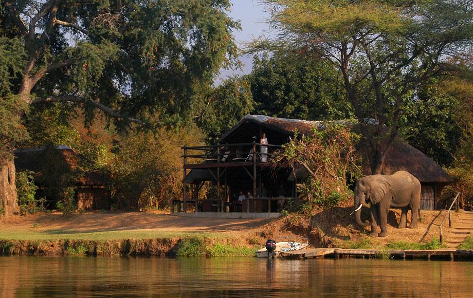 Chiawa Camp on the Zambezi River in Zamibia
