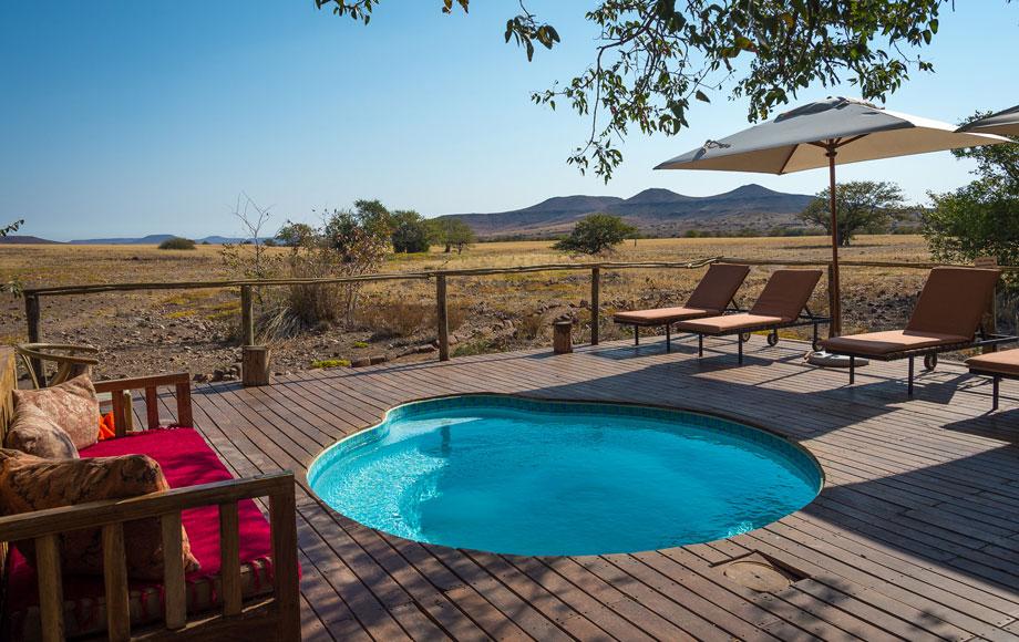 Desert Rhino Camp Pool