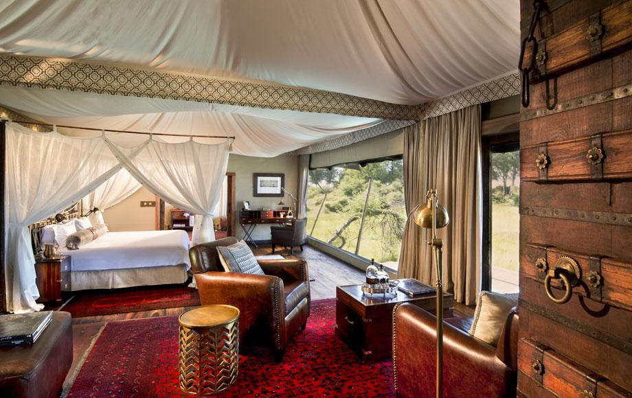 Duba Plains Guest suite