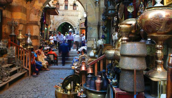 The Bazaar in Egypt