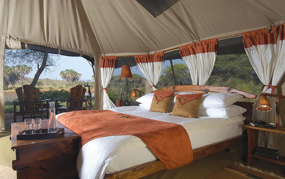 Elephant Bedroom Camp in Kenya