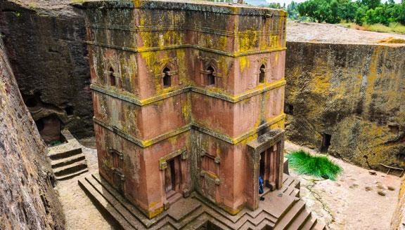 Lalibela in Ethiopia