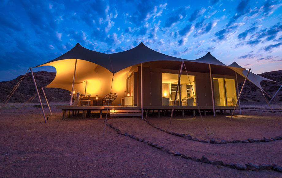 Hoanib Skeleton Coast Tent