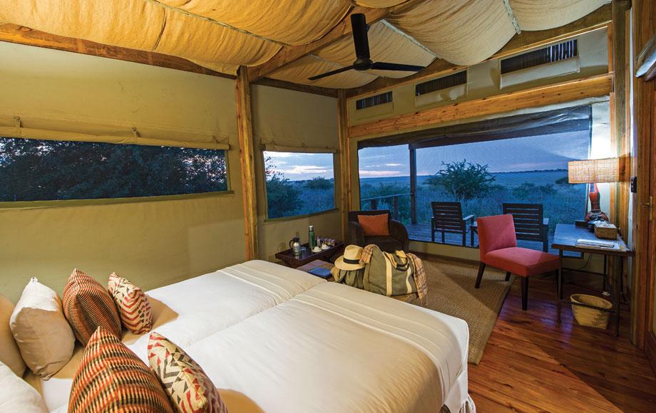 Kalahari Plains Camp Bedroom