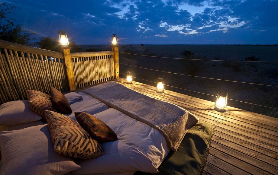 Kalahari Plains Camp skybed