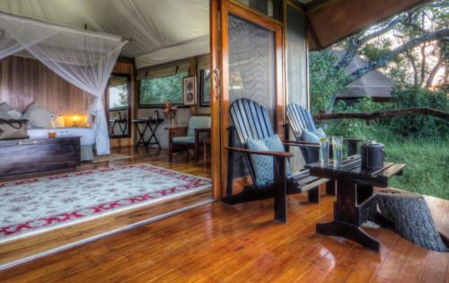 Bedroom at Kanana Camp