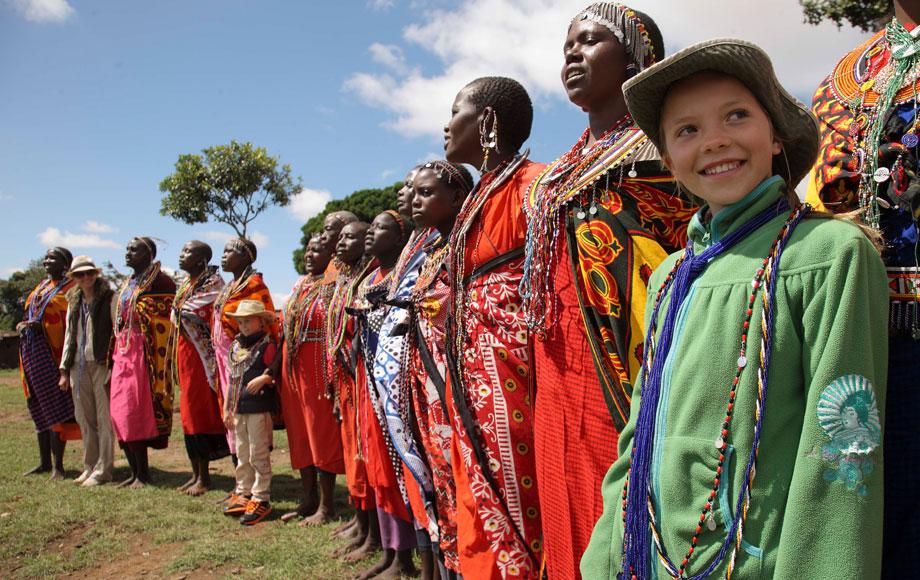 Masai Tribesmen in Kenya