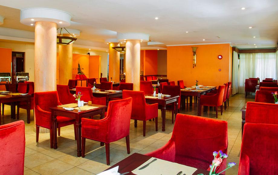 Kenya the Boma restaurant