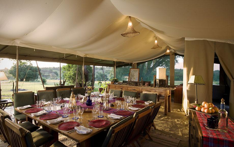 Kicheche Mara Camp Dining Table