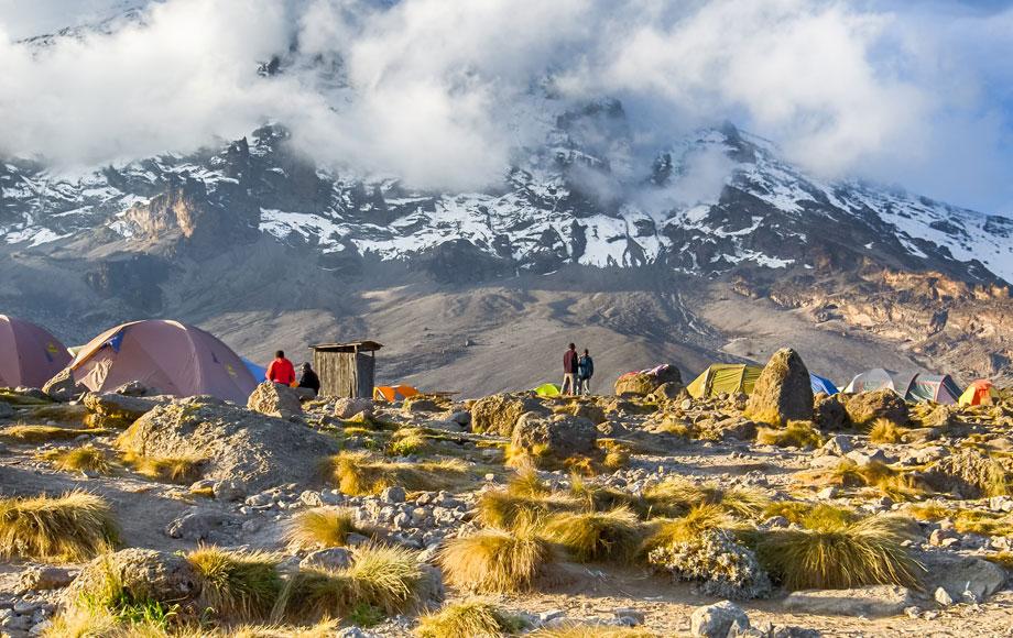 Camping at Mount Kilimanjaro