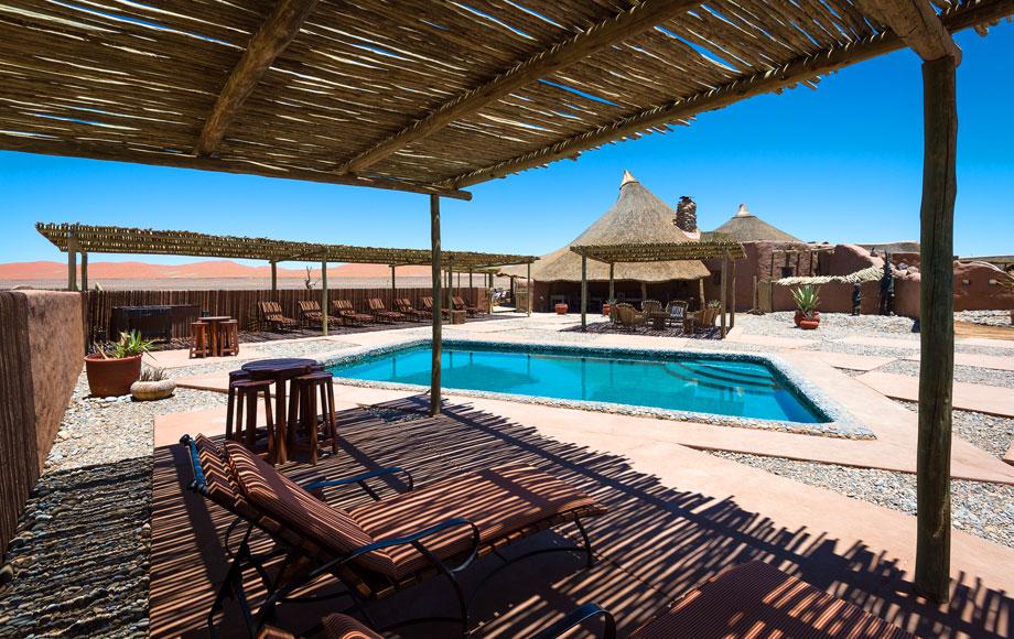 Kulala Desert Lodge Swimming pool
