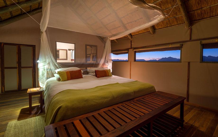 Kulala Desert Lodge bedroom
