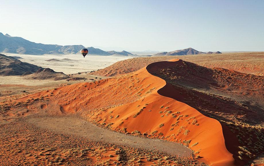 Ballooning at Kulala Desert Lodge