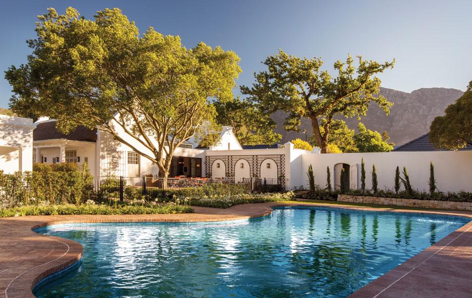 Pool at Leeu House