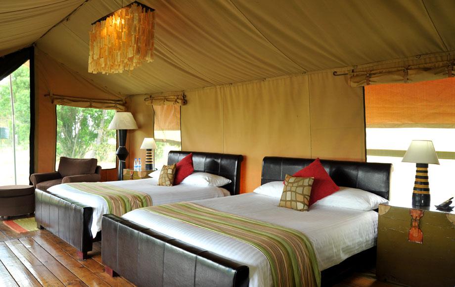 Luxury Lemala Mara tented suite in Tanzania
