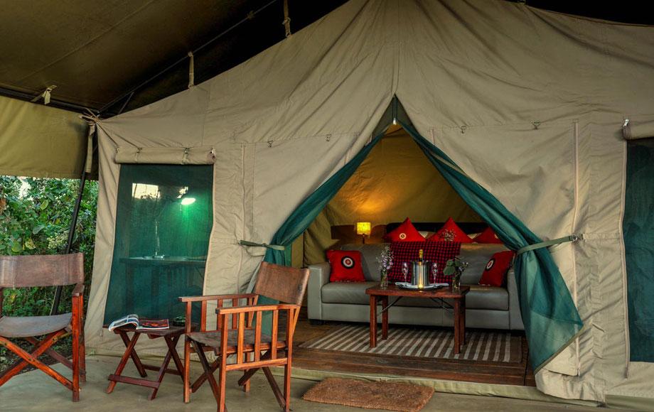 Luxury Lemala Ngorongoro Tented suite in Tanzania