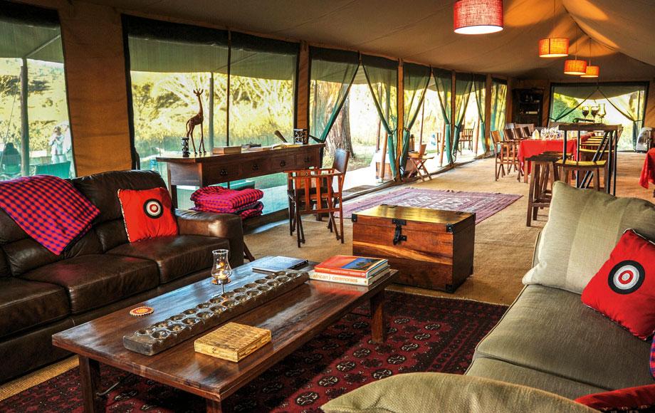 Luxury Lemala Ngorongoro Lodge in Tanzania