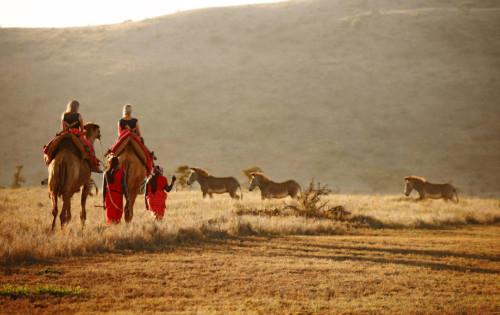 Masai in the Lewa and Laikipia region in Kenya