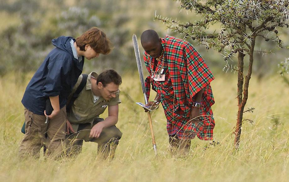 Masai guided walk in Kenya