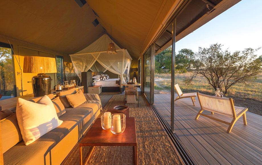 Luxury Linkwasha Camp in Hwange National Park, Zimbabwe