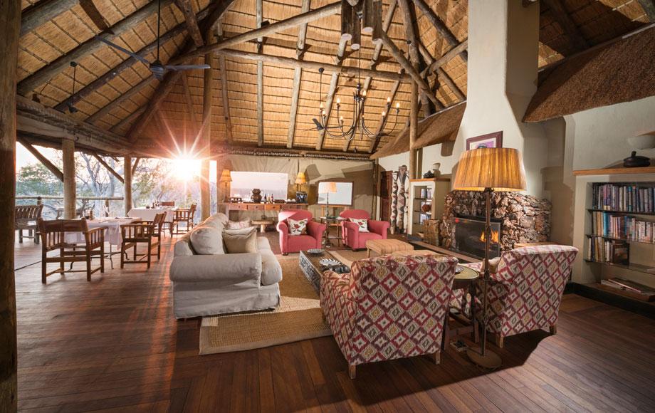 Little Ongava Lodge Main Area