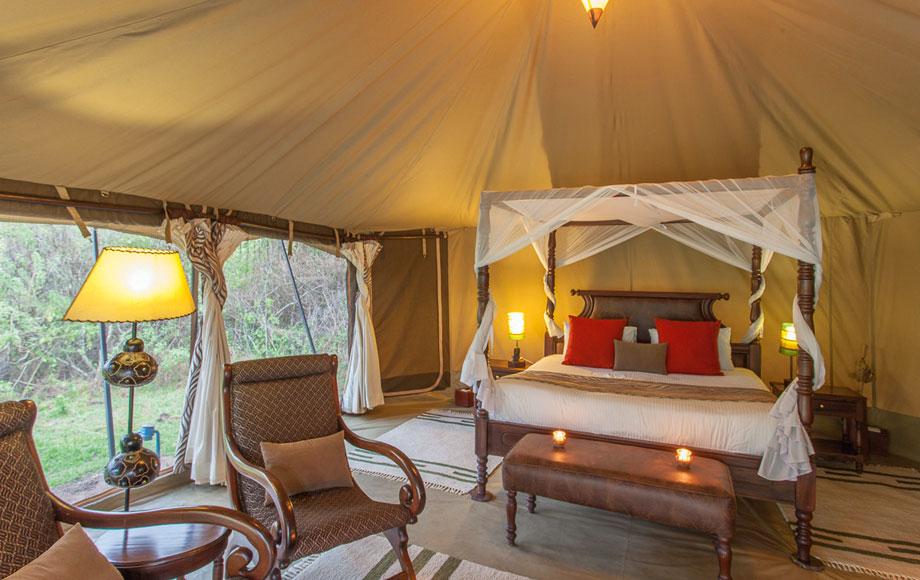 Mara Ngenche Private Camp in Kenya