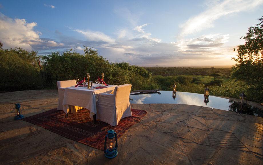 Ol Donyo Lodge in Kenya