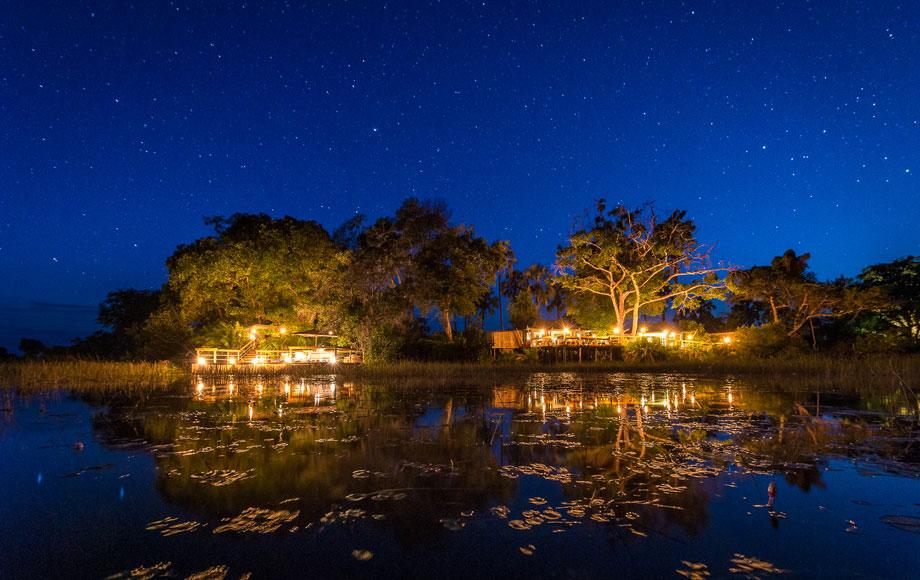 Pelo Camp at Night
