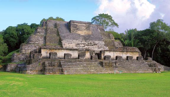 Mayan ruins at Xunantunich