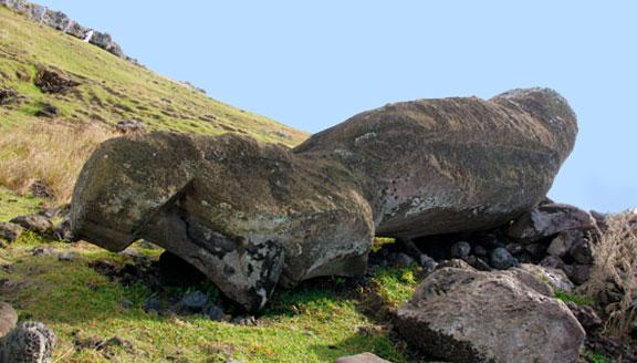 Moai of Akahanga