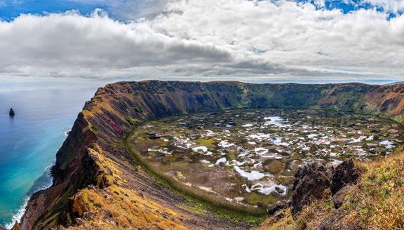 Rano Kau Volcano