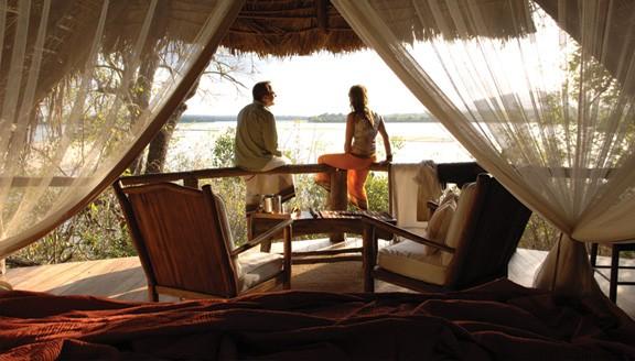 luxury lodge in Nyerere Tanzania