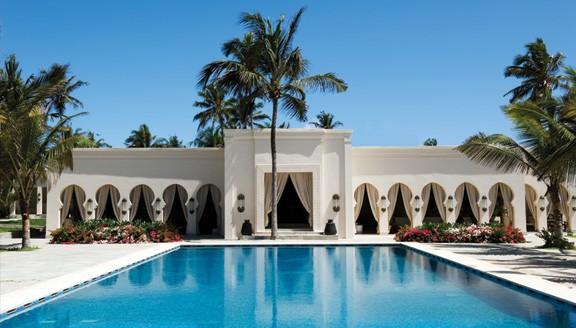 Luxury resort in Zanzibar