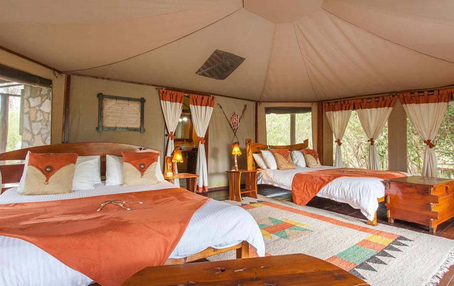 Tipilikwani Camp Bedroom