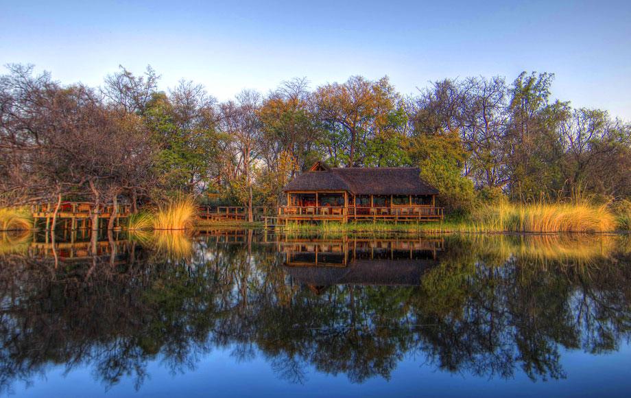 Xakanaxa Camp in the Okavango Delta